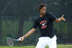 Gael Monfils (FRA) Royalty Free Stock Photos