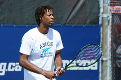 Gael Monfils (FRA) Royalty Free Stock Photo