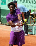 Gael Monfils (FRA) at Roland Garros 2011 Royalty Free Stock Photography