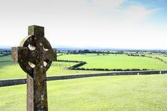 Gaelic cemetery Stock Image