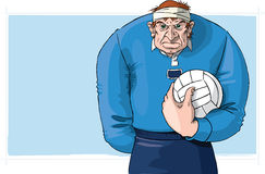 Gaelic football player. Prepares for battle Royalty Free Stock Photo