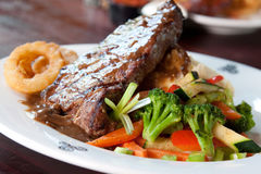 Gaelic Steak Royalty Free Stock Images
