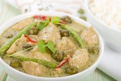 Gaeng Khiao Wan Gai Royalty Free Stock Image