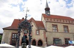 Gaenseliesl na frente da cidade salão-Goettingen Foto de Stock