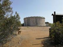Gaeta - μαυσωλείο από Munazio Planco Στοκ εικόνα με δικαίωμα ελεύθερης χρήσης