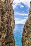 Gaeta - Ла Montagna Spaccata Стоковое Фото