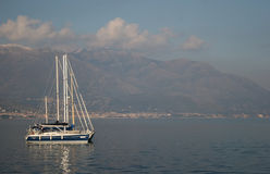 Gaeta harbor Stock Photos
