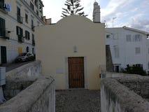Gaeta - igreja do rosário o mais santamente imagens de stock