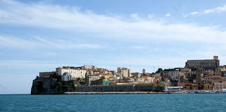 Gaeta harbour Stock Image
