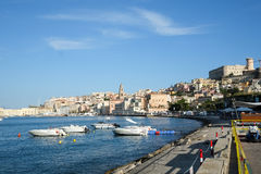 Gaeta-Stadt in Italien Lizenzfreies Stockbild