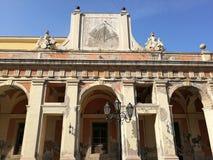 Gaeta - stor vakt Facade royaltyfri bild