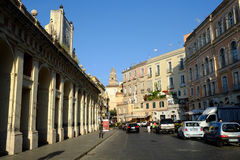 Gaeta town in Italy Stock Image