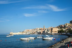 Gaeta town in Italy Stock Photos