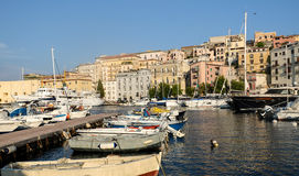 Gaeta town in Italy Royalty Free Stock Images