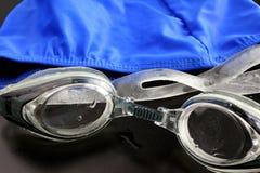 Gafas de la natación Foto de archivo libre de regalías