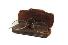 Gafas de la vendimia Fotografía de archivo libre de regalías