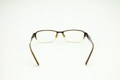 Gafas de los vidrios del ojo Imágenes de archivo libres de regalías