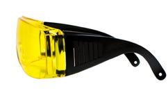 Gafas de seguridad Imágenes de archivo libres de regalías
