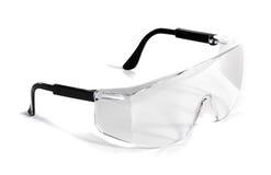 Gafas de seguridad aisladas Foto de archivo libre de regalías