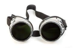 Gafas de seguridad del soldador del gas Fotos de archivo libres de regalías