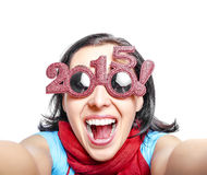 2015 gafas de sol Fotografía de archivo libre de regalías