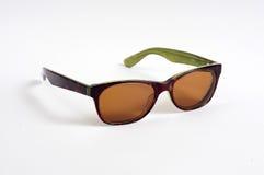Gafas de sol de Brown Foto de archivo