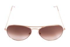 Gafas de sol de la pendiente del aviador Fotos de archivo