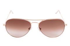 Gafas de sol de la pendiente del aviador Imagen de archivo libre de regalías