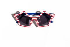 Gafas de sol del día de fiesta de los E.E.U.U. Foto de archivo
