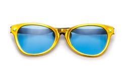 Gafas de sol del partido aisladas imágenes de archivo libres de regalías