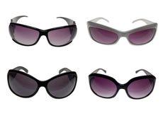Gafas de sol femeninas con la corrección del recortes Fotografía de archivo libre de regalías