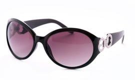 Gafas de sol femeninas negras Imagen de archivo libre de regalías