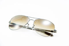 Gafas de sol, fondo blanco aislado Fotos de archivo libres de regalías