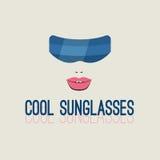Gafas de sol futuristas del vector Fotografía de archivo libre de regalías
