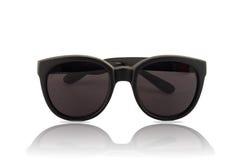 Gafas de sol grandes con los vidrios oscuros Foto de archivo