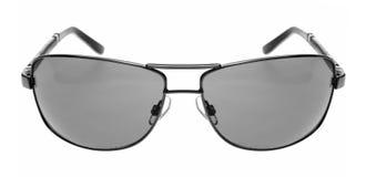 Gafas de sol grises Imágenes de archivo libres de regalías