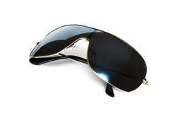 Gafas de sol negras Imagen de archivo libre de regalías