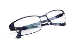 Gafas de sol negras con estilo Foto de archivo