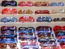 Gafas de sol para la venta Imágenes de archivo libres de regalías