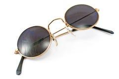 Gafas de sol retras enmarcadas redondas Fotos de archivo libres de regalías
