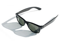 Gafas de sol retras frescas del estilo Fotografía de archivo libre de regalías