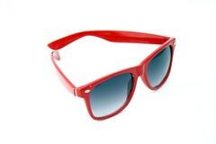 Gafas de sol rojas Imagen de archivo libre de regalías