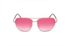 Gafas de sol rosadas de moda Imagen de archivo
