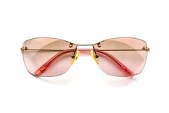 Gafas de sol rosadas elegantes Foto de archivo libre de regalías