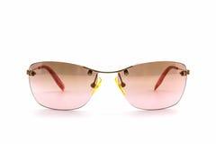 Gafas de sol rosadas elegantes Imagen de archivo