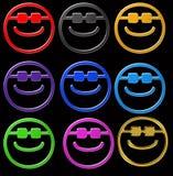 Gafas de sol sonrientes Imagen de archivo