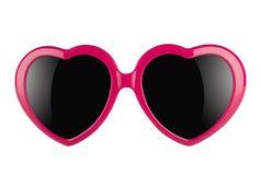 Gafas del amor Imagen de archivo libre de regalías