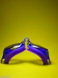 Gafas del salto Foto de archivo libre de regalías