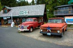 Gafflar Washington, USA - Juni 15, 2015: Chevrolet Bella Swan från sagan av ` för skymning för ` för Stephenie Meyer ` s, Royaltyfri Fotografi