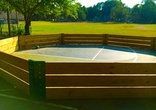 Gaga Ball Pit Stockfoto